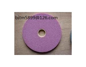 Pink Fused Aluminum Oxide abrasive wheels