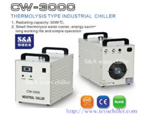Air cooled water cooler CW-3000 China