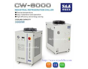 Air and water cooled chiller CW-6000 China