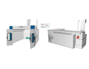 BZB-1000B Spray Booth, paint booth(Semi-Downdraft)