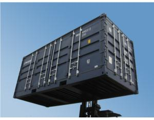 20' Container with Rear End and Both Side Full Access