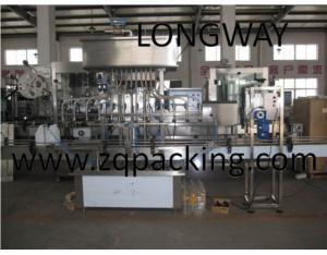 automatic herbicide bottle filling machine