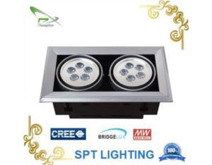 2*5w,20000hr, high quality led ceiling Light/led grille light