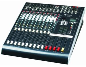 PS-1200MG 12-Ch Record and USB and SD card Display Power Mixer