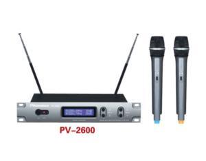 PV-2600 VHF Wireless Microphone
