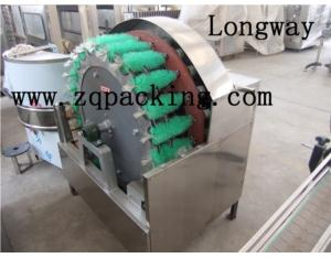 Semi-auto Glass Bottle Brush Washing Machine