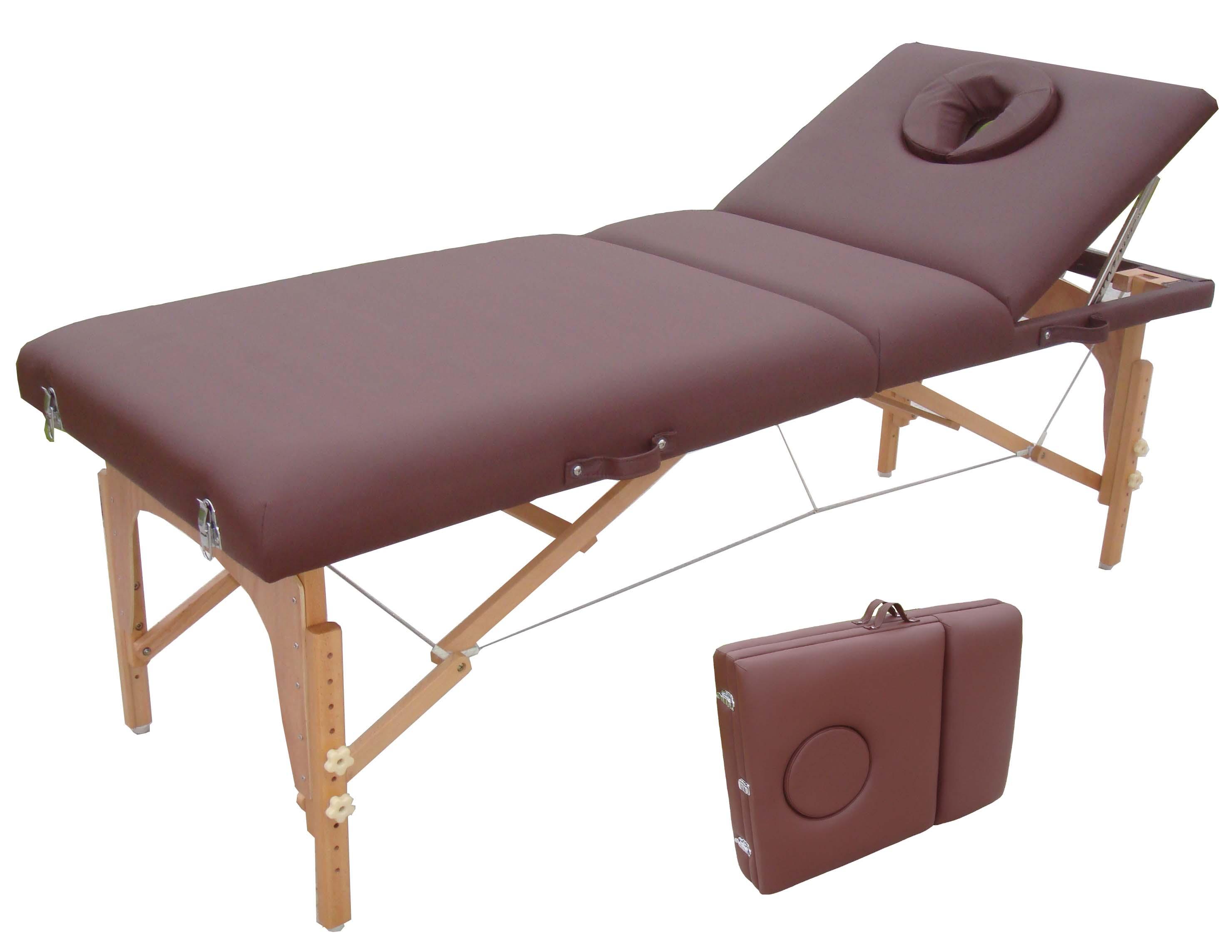 portable massage bed with adjustable backrest mt 009 2. Black Bedroom Furniture Sets. Home Design Ideas