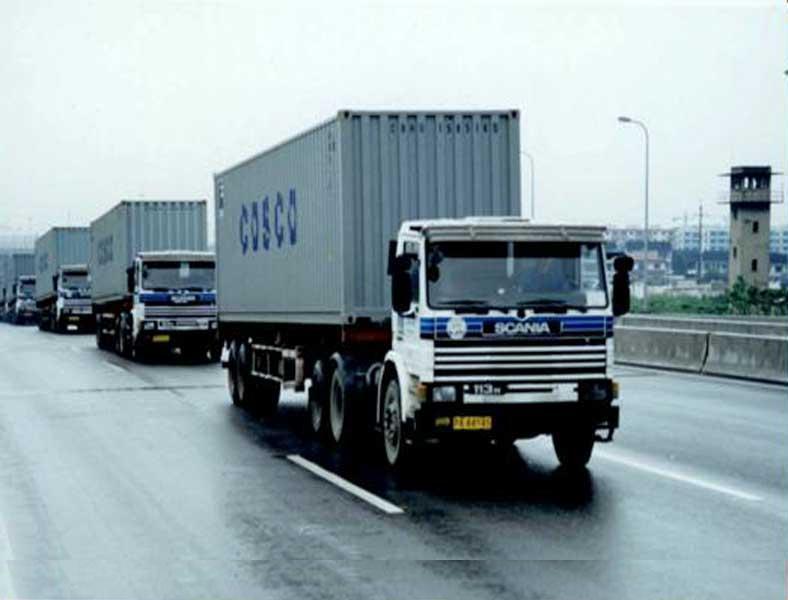 Truck og trailer