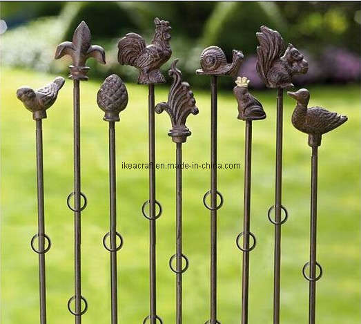 Exceptional Cast Iron Garden Stake (YJ2018)
