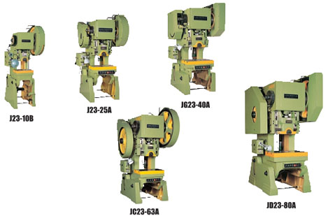 J23 Series General Open Back Inclinable Press