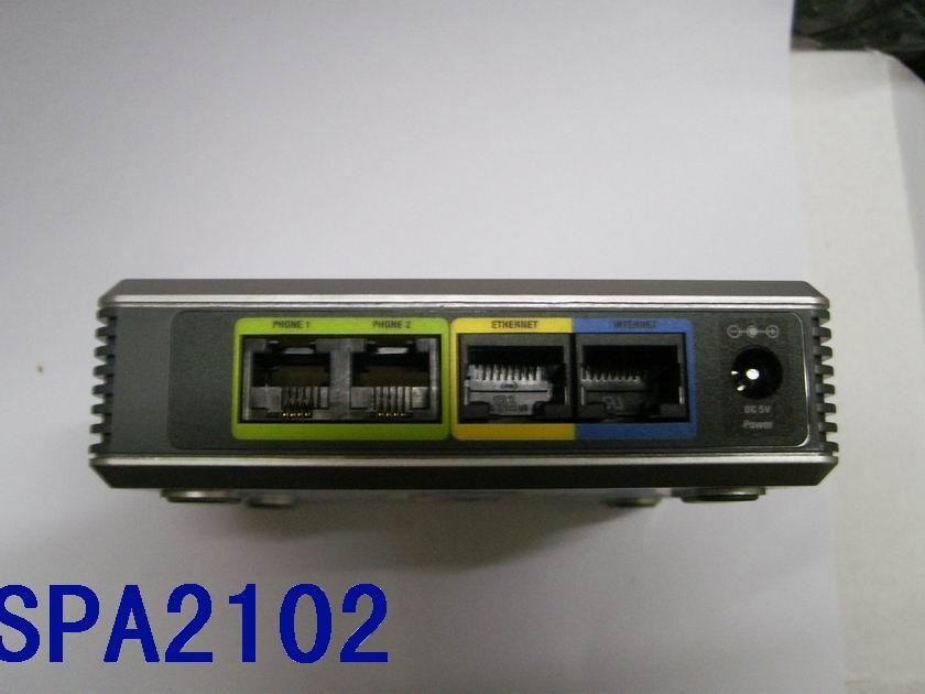 Linksys-IP Gateway--SPA2102 (2 FXS, 1 LAN)