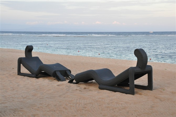Etonnant Outdoor Furniture   Fancy Beach Chair (L0034)