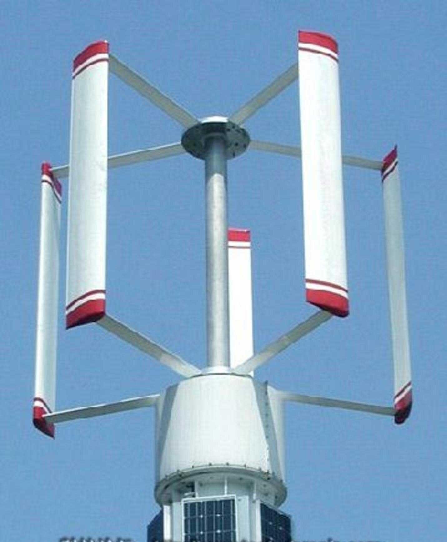 Как сделать ветрогенератор на 220В своими руками : самодельный ветряк 4