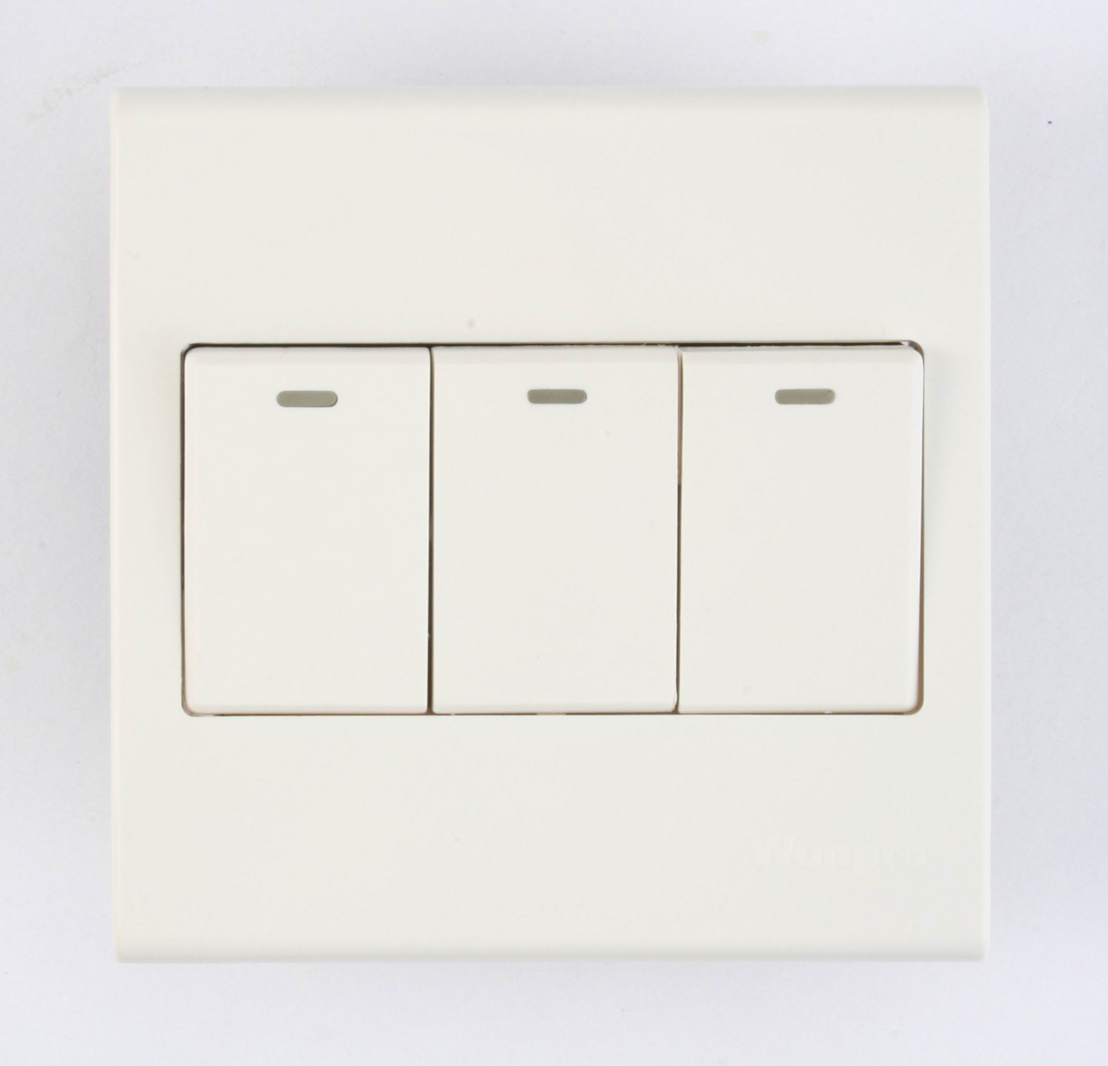 3 Gang Switch Set With Indicator