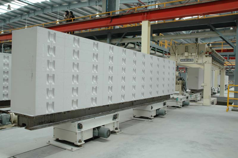 Autoclaved Aerated Concrete : Aac autoclaved aerated concrete wall blocks brick