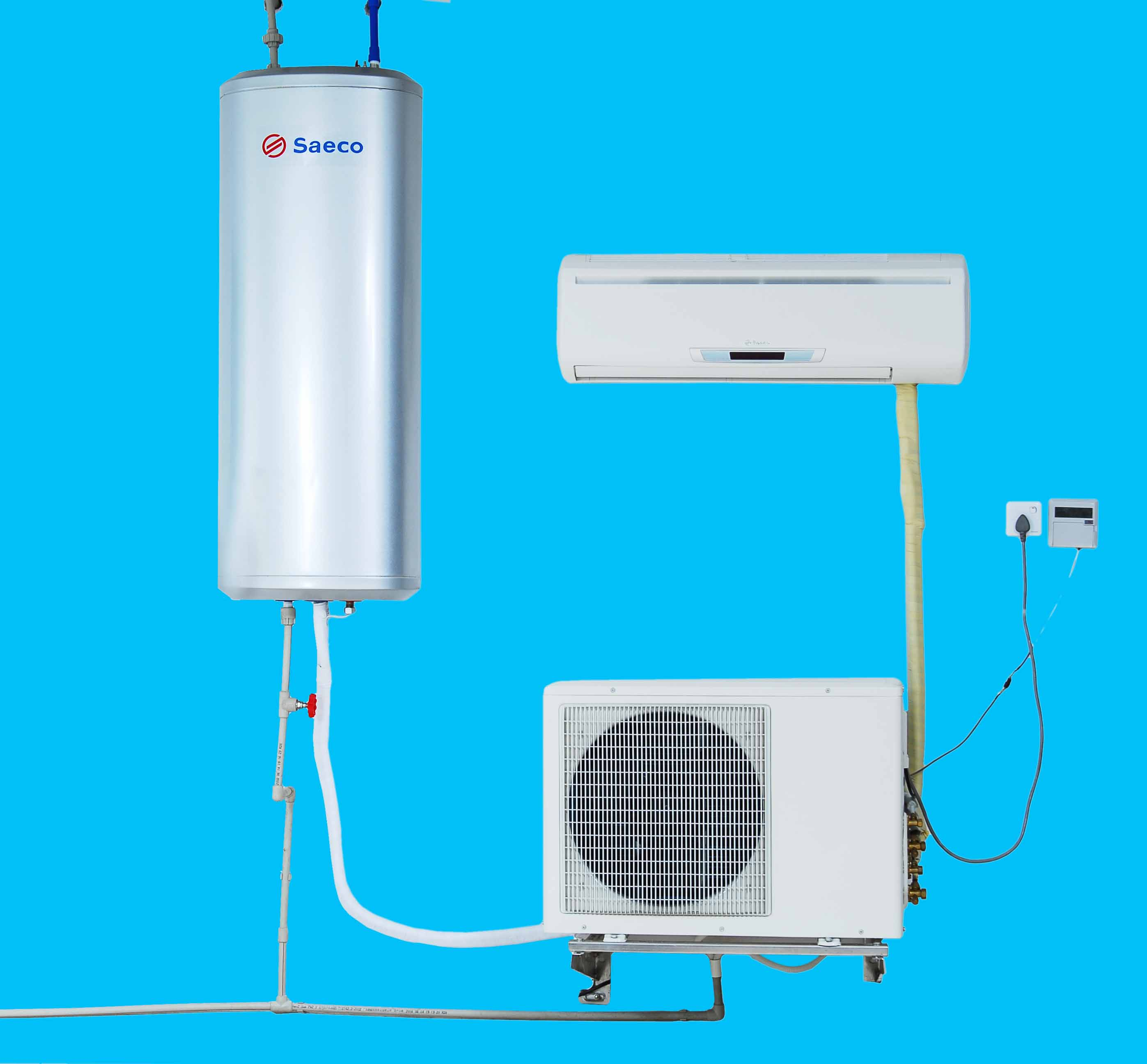 hybrid water heater with air conditioner function - Air Conditioner And Heater