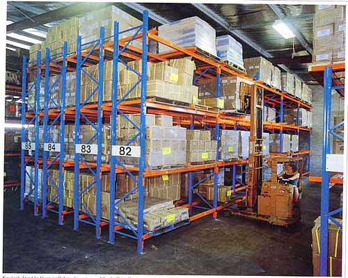 Pallet Racking Double Deep Rack Undd 002