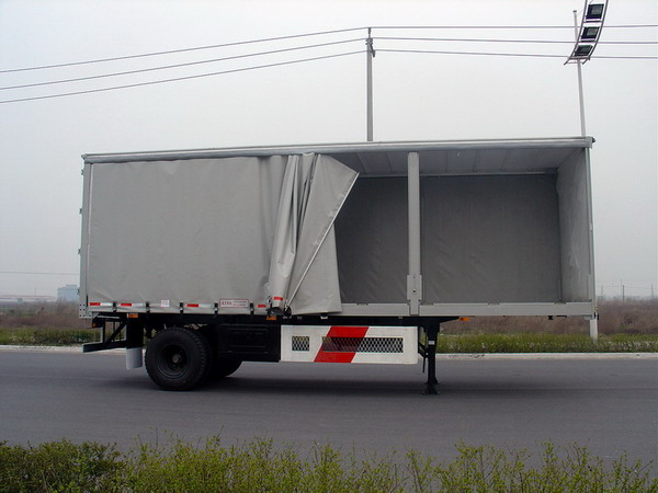 Curtain Side Semi Trailer CIMC 9390XXY