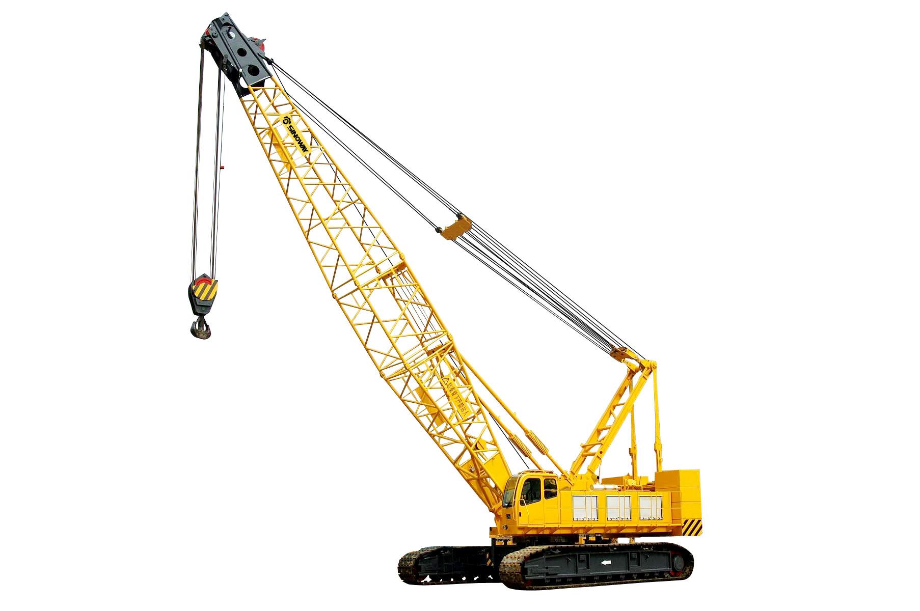 Crane Pictures crawler crane (quy100) (100ton)