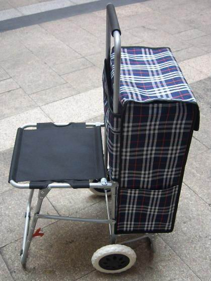 Shopping Trolley Bag With Chair Zt5004