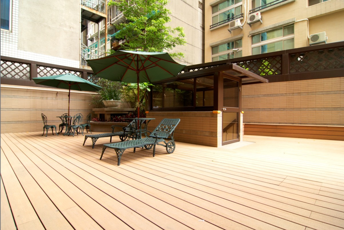 ordinary wpc decking #5: WPC Flooring, WPC Decking Floor (HO03145)