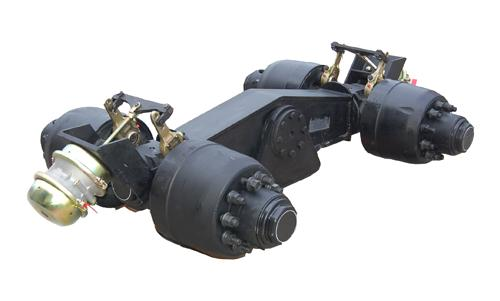 Heavy Equipment Suspension : Cantiveler suspension for truck trailer and heavy duty