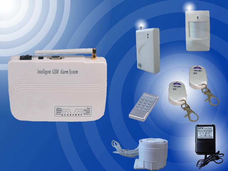 . Intelligent Home Wireless GSM Alarm System  KI G10
