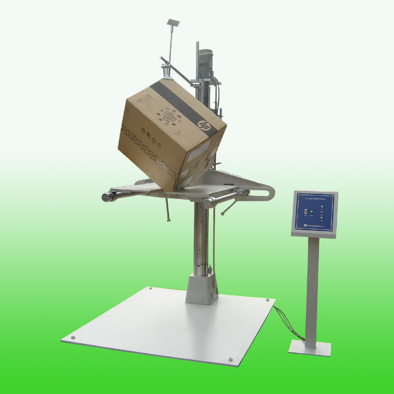 Packaging Test Instruments : Package drop test machine two wing type hz a
