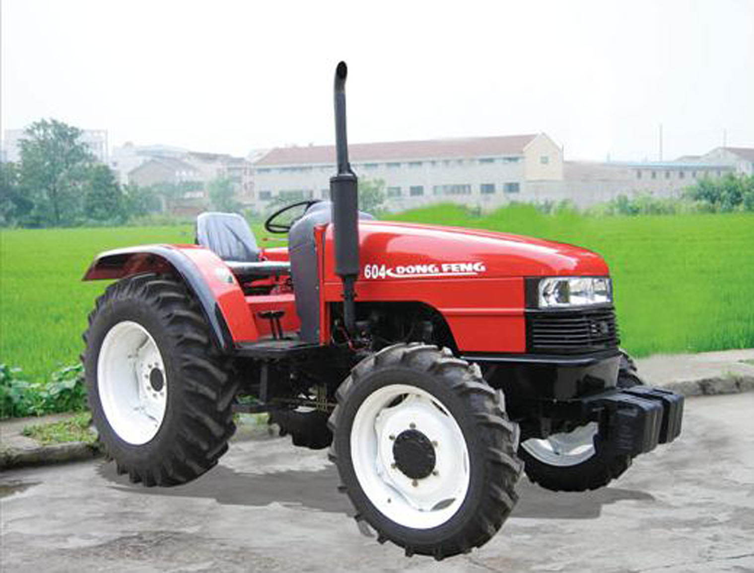 Farm Tractor 2 Wheel : Four wheel tractor df