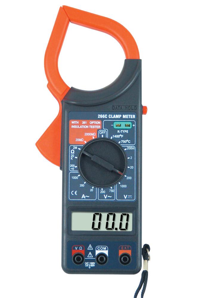 266c clamp meter видео инструкция