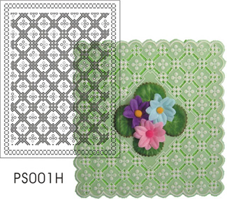 Pattern Parchment Template (PS001H)