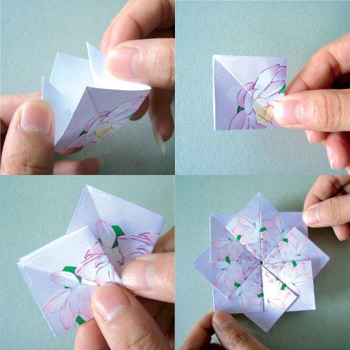 tea bag folding instructions printable