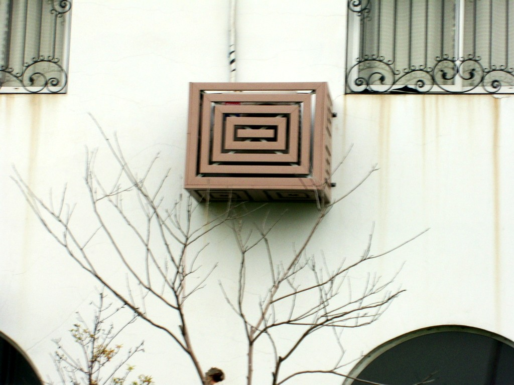 Air Conditioner Cover Flower Box