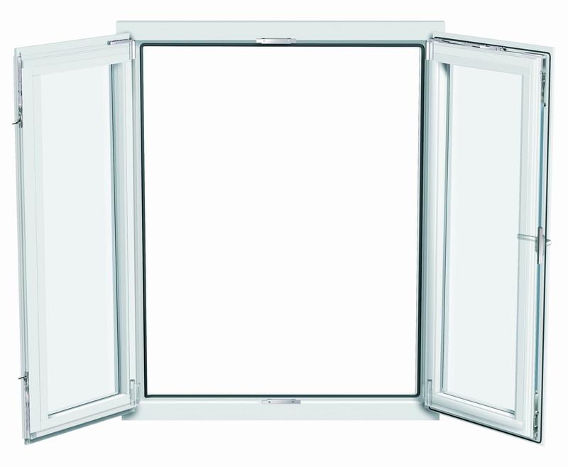 PVC Open Window