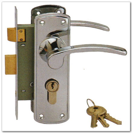 R c hardware products co ltd for Door handle with lock