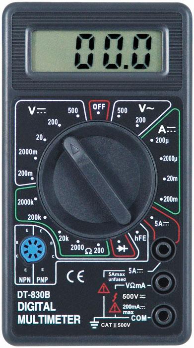 digital multimeter - dt890b  3 1/2