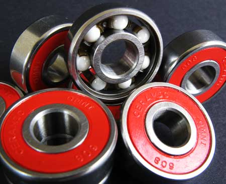 rubber sealed skate bearings