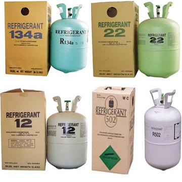 Refrigerant Gas R11 R134a R12
