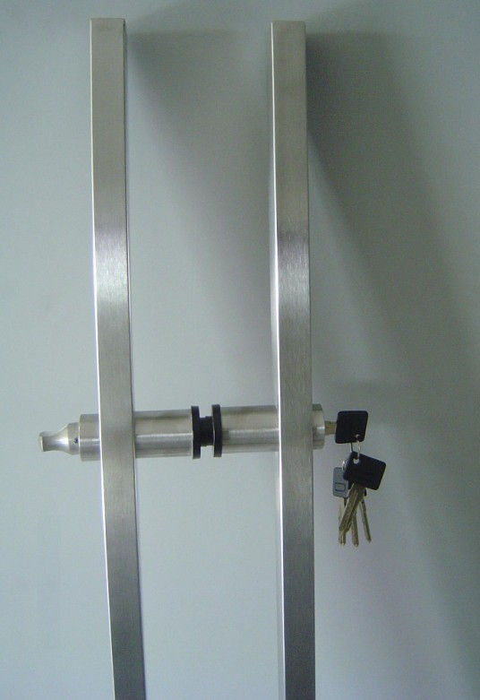 Glass Door Handle Lock Or Pull Handle Lock Ev1200b 8