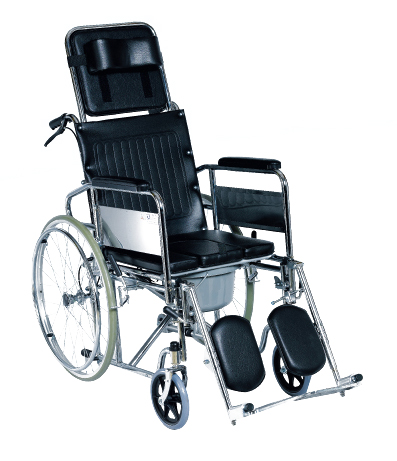 sc 1 th 242 & Steel Reclining Commode Wheelchair (OH-CC025) islam-shia.org