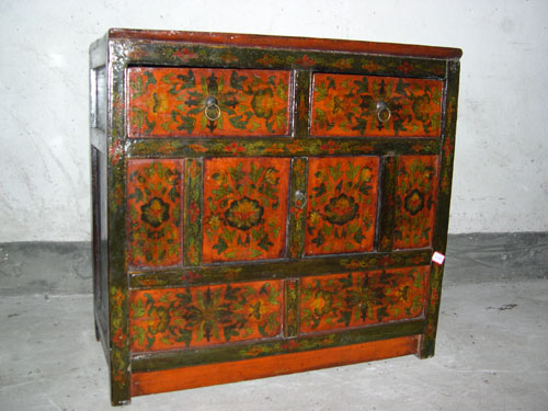 Antique Furniture  Tibetan Cabinet (ZX2269)