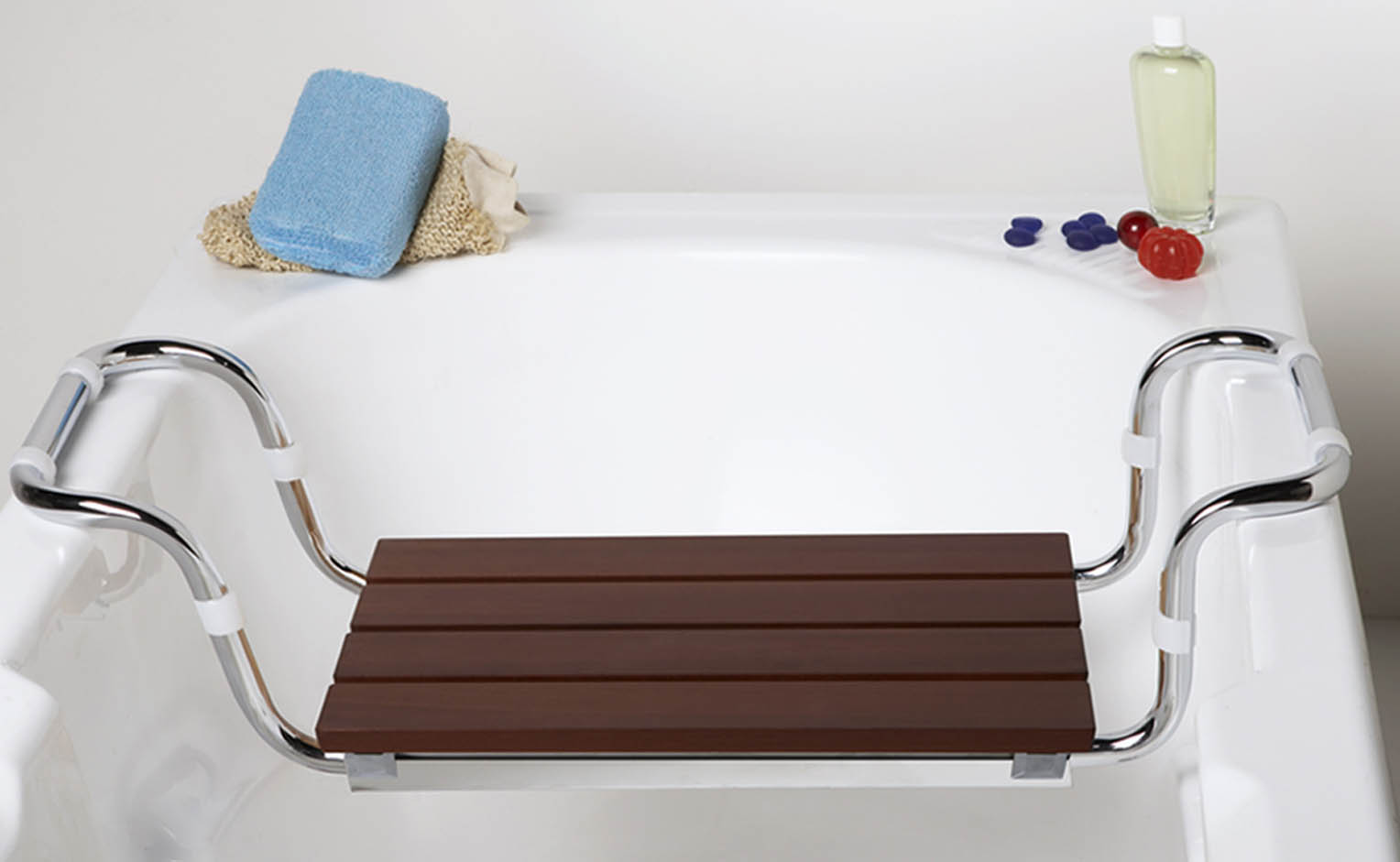 Bathtub Seat / Bench (WOODEN SLAT)
