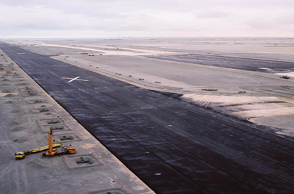 New Doha International Airport. A runway for the new A380 ...  New Doha Intern...