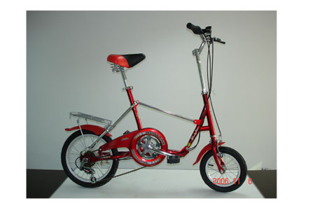 SPM-727 - 1 second folding bike
