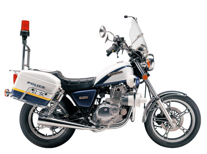 Police Bike (GN250J)
