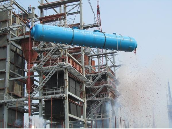 Zhao Donghua can the boiler steam drum lifting heating project