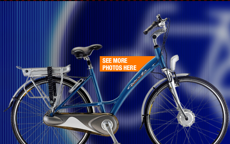 City Titanium - electric bicycle