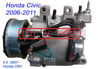 Kompressor TRSE07/TRSE09 for HONDA CIVIC 2006-2011 / HONDA CRV 2.0 2007- OEM# 38810-RNA-00