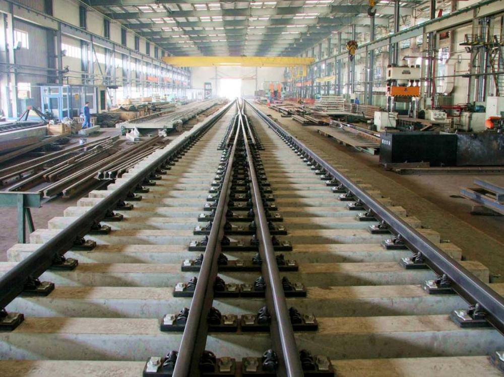 60kg M Rail 1 41 High Speed Turnout