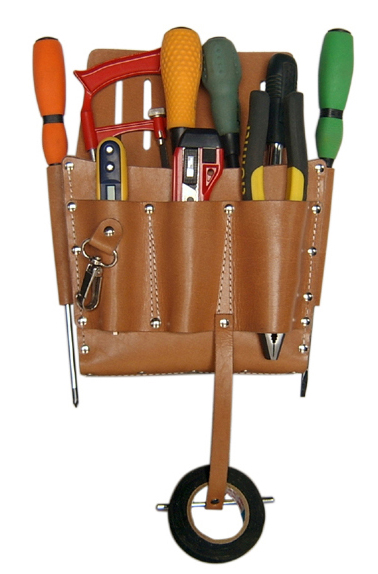 leather tool bags for electrician leather tool belts
